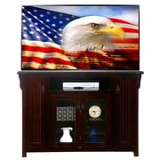 AmericanHeartland 59'' TV Stand; Chocolate Mousse