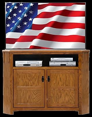 AmericanHeartland 57'' TV Stand; Classic Bourbon