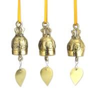 Novica Ning Charoensri Brass Hand Crafted Ornament (Set of 3)
