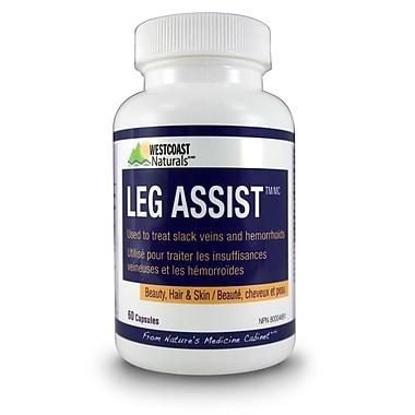 Westcoast Naturals 30338, Leg Assist Caps, 60 Capsules, White