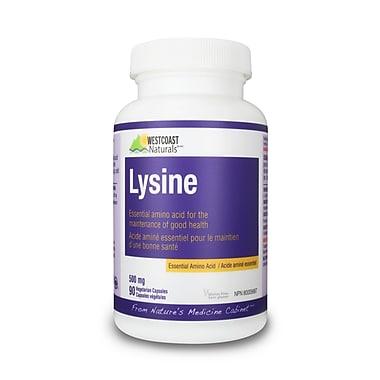 Westcoast Naturals – Lysine, 2 bouteilles x 90 capsules