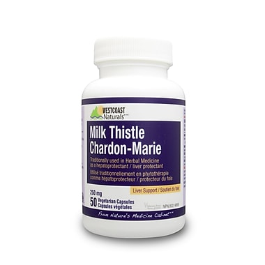 Westcoast Naturals Milk Thistle, 3 x 50 Capsules