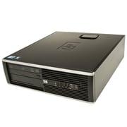 HP 8000 Elite SFF Refurbished Desktop, Intel Core 2 Duo E8400 3.0GHz, 4GB DDR3 SDRAM, 250GB HDD, Windows 7, English