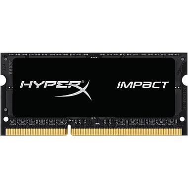 Kingston – Mémoire d'ordinateur HyperX® Impact module de 8 Go DDR3L 2133 MHz, CL 11 SoDIMM, 1,35 V