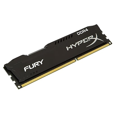 Kingston® – Mémoire informatique HX424C15FB/8 Hyperx FURY module de 8 Go, DDR4 2400 MHz DIMM C15, noir