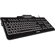 CHERRY KC 1000 SC Wired Keyboard, Black (JK-A0104EU-2)