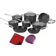 Cuisinart® Chef's Classic™ Hard Anodized 14 Piece Cookware Set (66-14N)