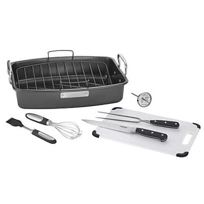 Cuisinart® 8 Piece Ovenware Non Stick Roasting Set (ASR-1713HPS)