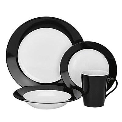 Cuisinart® Reynes Collection 16-Piece Dinnerware Set (CDP01-S4WBK)
