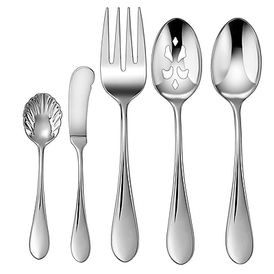 Cuisinart® CF-01-I45 Irais Collection Stainless Steel 45 Piece Flatware Set