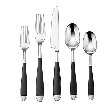 Cuisinart® CFE-01-B20 Elite™ Beille Stainless Steel 20 Piece Flatware Set