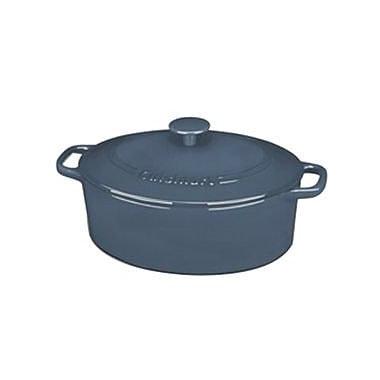 Cuisinart® Chef's Classic™ 5.5 qt. Oval Covered Casserole, Blue (CI755-30BG)