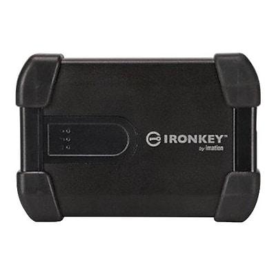 DataLocker 500GB 5 Gbps External Hard Drive, Black (MXKB1B500G5001-B)