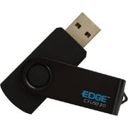 Edge 16GB 40 Mbps Read/15 Mbps Write USB Flash Drive, Black (PE248574)