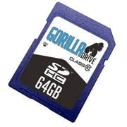 EP Memory GorillaDrive™ Class 10 64GB SDHC Memory Card