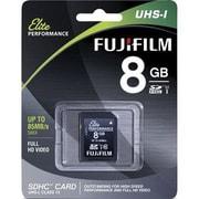 Fujifilm 600012521 Elite Class 10/UHS-I (U1) 8GB SDHC Memory Card