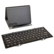 Plugable® BT-KEY3XL Bluetooth Wireless Full-Size Folding Keyboard and Case