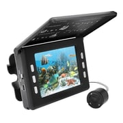 Pyle® PFSHCMR1 30MP Underwater Waterproof Fishing Camera/Video Record System with Night Vision Sensors, Black