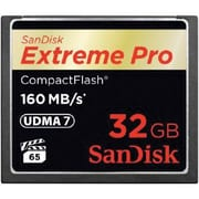 SanDisk® SDCFXPS-032G-A46 Extreme Pro 32GB CompactFlash Memory Card