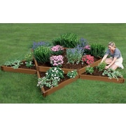 Frame It All Star 16 ft x 12 ft Composite Raised Garden