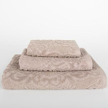 Mi Casa Deco Sanderson 3 Piece Towel Set; Portabella Beige