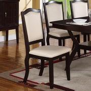 A&J Homes Studio Charles Side Chair (Set of 2); Cream