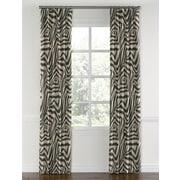 Loom Decor Animal Print Blackout Single Curtain Panel; 84''
