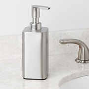 Gia Hand Soap Dispenser, Silver (16480)