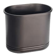 Olivia Oval Wastebasket Trash Can-Great for Hotels, Restaurants, Offices - Bronze (23171)