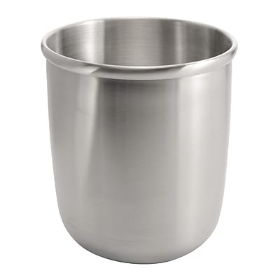 Nogu Wastebasket Trash Can - Brushed Stainless Steel (24650)