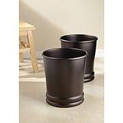 Olivia Wastebasket Trash Can - Bronze (26581)