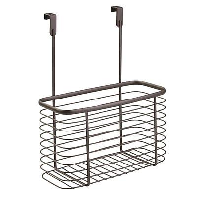 Axis Over the Cabinet Kitchen Storage Organizer Basket, Large, Bronze (56398)