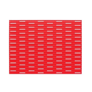 Lineo Silicone Kitchen Sink Protector Mat - Large, Red (64684)