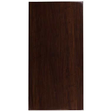 Flash Furniture 30'' x 60'' Rectangular Resin Walnut Table Top (TP-WAL-3060-GG)