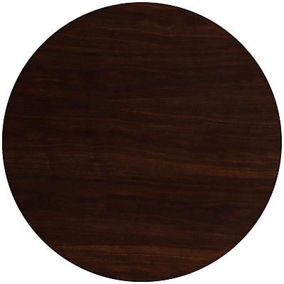 Flash Furniture 48'' Round Resin Walnut Table Top (TP-WAL-48RD-GG) 2406993