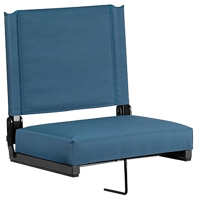 Flash Furniture Game Day Seats; by Flash with Ultra-Padded Seat in Green (XU-STA-GN-GG)