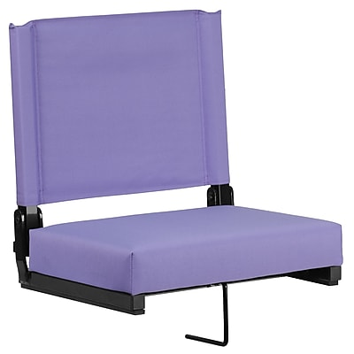 Flash Furniture Game Day Seats; by Flash with Ultra-Padded Seat in Purple (XU-STA-PUR-GG)