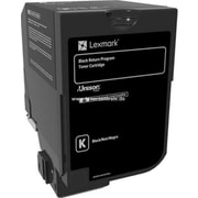 Lexmark CS720, CS725, CX725 Black Return Program Toner Cartridge (74C10K0)