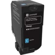 Lexmark CS725 Cyan High Yield Return Program Toner Cartridge (74C1HC0)