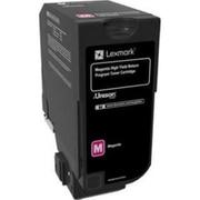 Lexmark CS725 Magenta High Yield Return Program Toner Cartridge (74C1HM0)