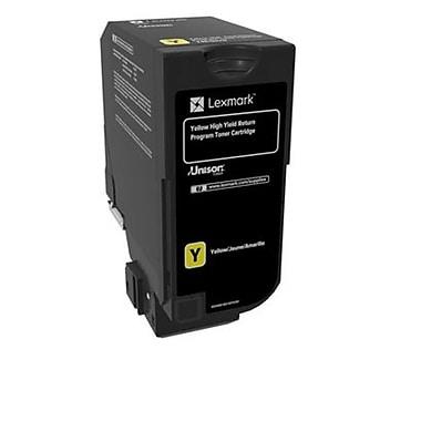 Lexmark – Cartouche de toner jaune du programme de retour à rendement élevé CS725