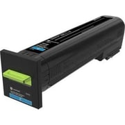 Lexmark CS820 Cyan Extra High Yield Return Program Toner Cartridge (72K1XC0)