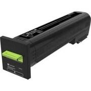Lexmark CS820, CX820, CX825, CX860 Black Return Program Toner Cartridge (72K10K0)