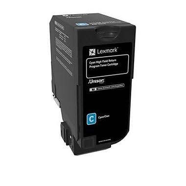 Lexmark CX725 Cyan High Yield Return Program Toner Cartridge (84C1HC0)