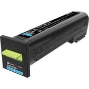 Lexmark CX825, CX860 Cyan Extra High Yield Return Program Toner Cartridge (82K1XC0)