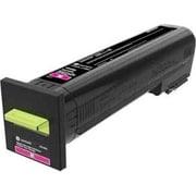 Lexmark CX825, CX860 Magenta Extra High Yield Return Program Toner Cartridge (82K1XM0)