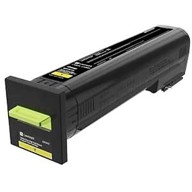 Lexmark CX825, CX860 Yellow Extra High Yield Return Program Toner Cartridge (82K1XY0)