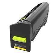 Lexmark CX860 Yellow Ultra High Yield Return Program Toner Cartridge (82K1UY0)