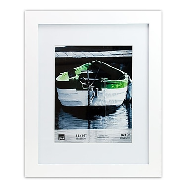 Kiera Grace – Cadre Langford PH43260-5, 11 po x 14 po avec passe-partout pour photo de 8 po x 10 po, blanc