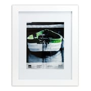 "Kiera Grace PH43260-5 Langford Frame, 11x14"" Matted to 8x10"", White"